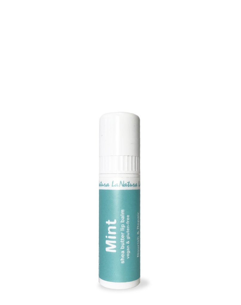 LaNatura Mint Shea Butter Lip Balm