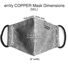 enVy COPPER infused Face Masks