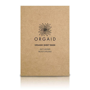 Orgaid Organic Ant-Aging Sheet Mask at The Summit Spa