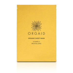 Orgaid Organic Vitamin C Sheet Mask at The Summit Spa