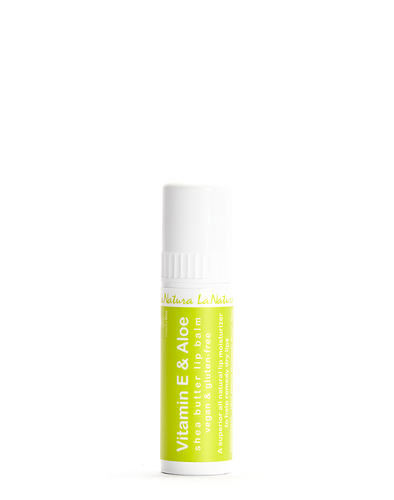 Aloe + Vitamin E Lip Balm
