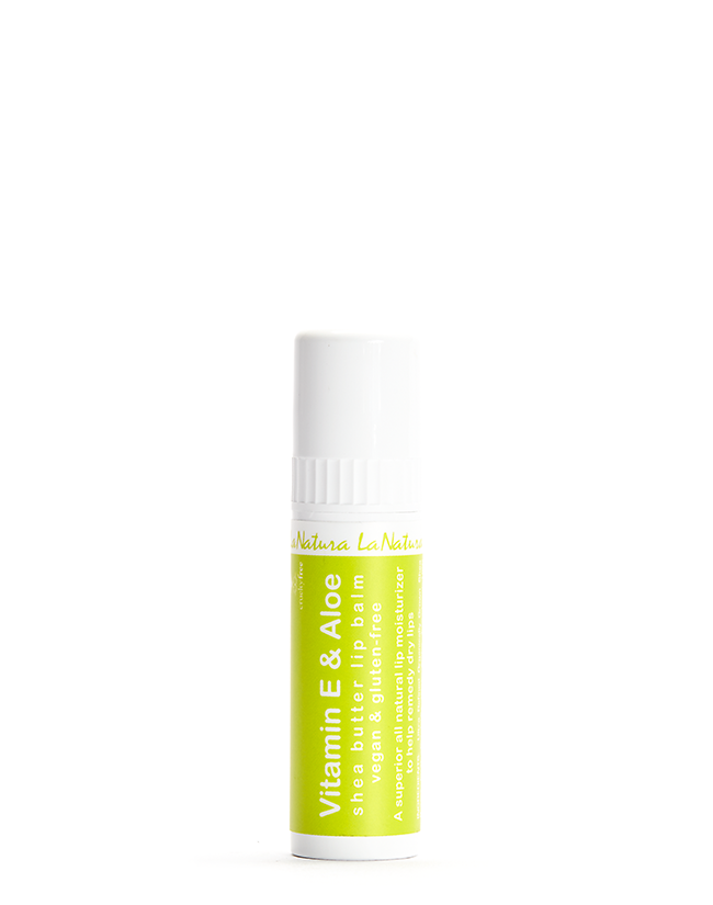 LaNatura Aloe + Vitamin E Shea Butter Lip Balm