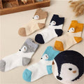 Children Socks Cartoon Candy Colors