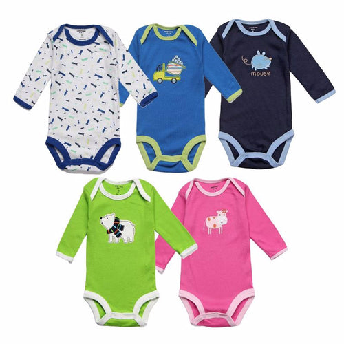 Long Sleeve Infant Baby Boy Jumpsuits