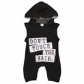 Baby Boy Hooded Romper