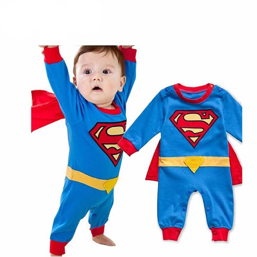 Baby Boy Romper Superman