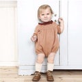 Baby Girl Romper Knitted Dress