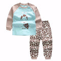 baby boy girl clothes Long sleeve Top + pants
