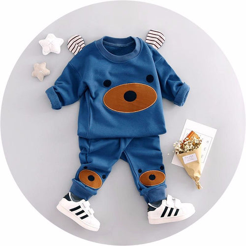 baby boys cartoon 2pcs