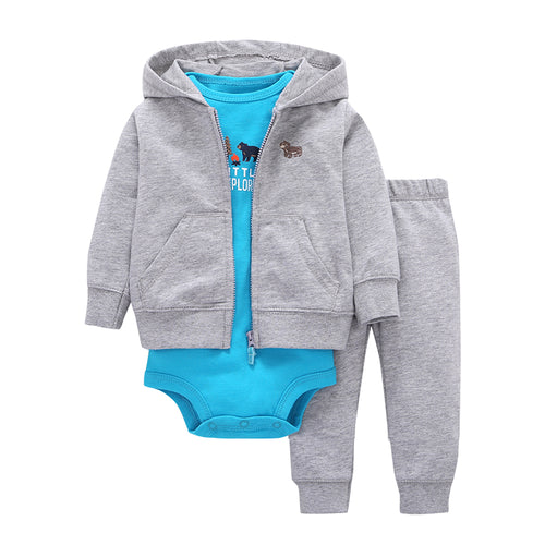 Infant Baby Boys Gilrs Clothes 100% Cotton Bodysuit - flybabywear