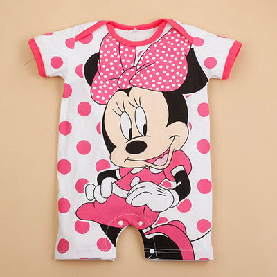 a801bbec301ea 2018 Summer Baby Rompers Cotton Baby Girl Clothes Mickey Baby Boy Clothes  Newborn Baby Clothes Roupas Bebe Infant Jumpsuits