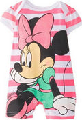 mickey baby girl summer romper