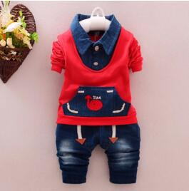 2019 Spring Baby Boys Clothing Sets Toddler Boy clothes Tops and Pants Sports Suits newborn Tracksuits Set baby clothes boy
