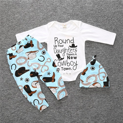 200f59ba2d5f Autumn Baby Boy Clothes Set