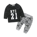 Newborn clothes for bebes style letter printed casual baby boy clothes baby newborn baby clothes baby clothing kids clothes - flybabywear