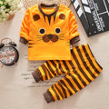 baby girl little tiger clothing set