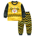 Children cotton sport suit