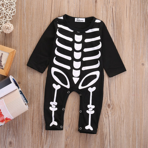 Halloween Newborn Baby Boys Girls Romper Jumpsuit Outfits Costume - flybabywear