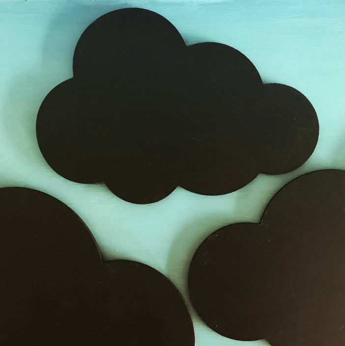 Chalkboard Cloud - Small