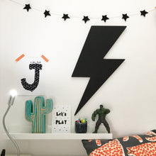 Chalkboard Lightening Bolt