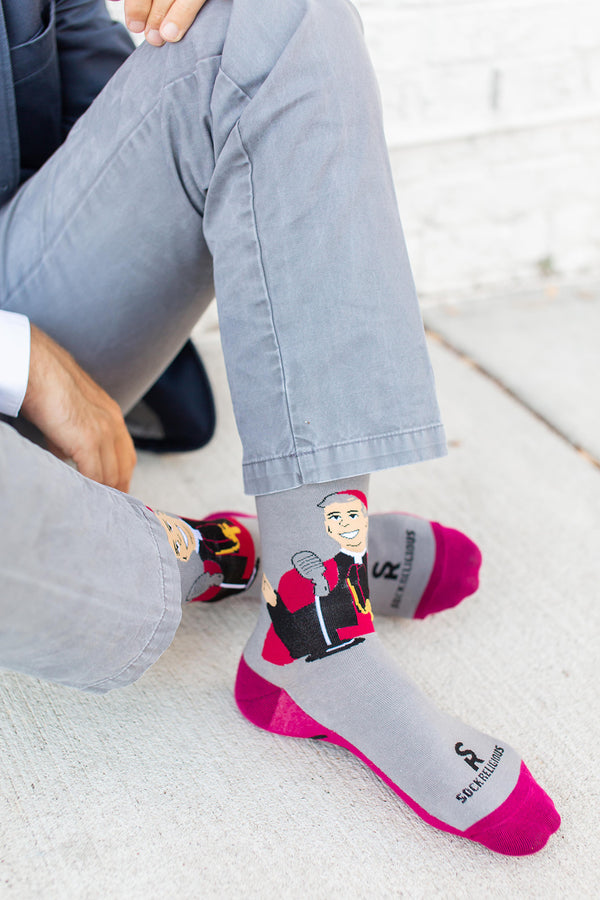Archbishop Fulton Sheen Socks