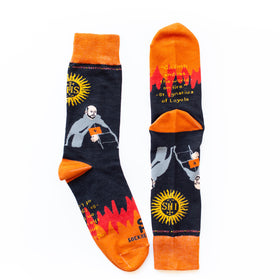 St. Ignatius of Loyola Socks