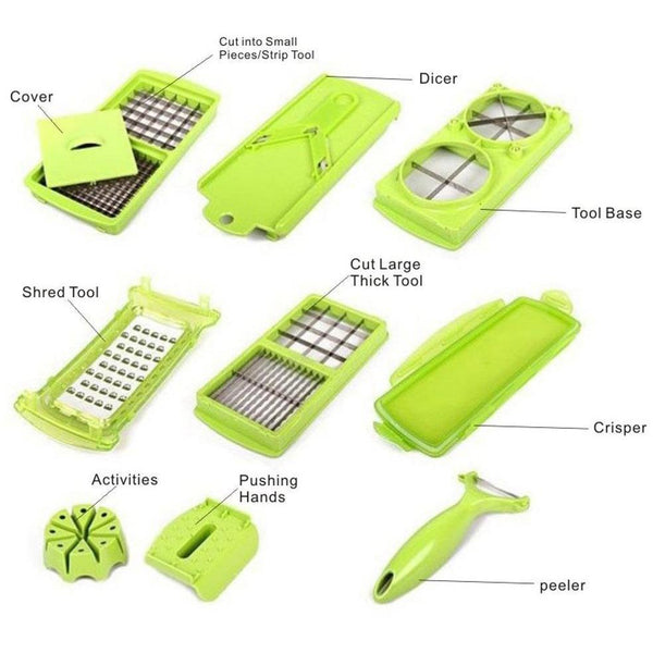 12 In 1 Magic Dicer - Mega Elephant