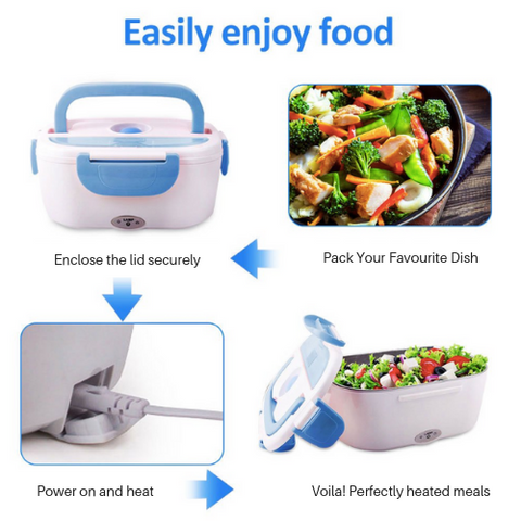 Quicky Lunch ™ - Premium Heated Lunch Box