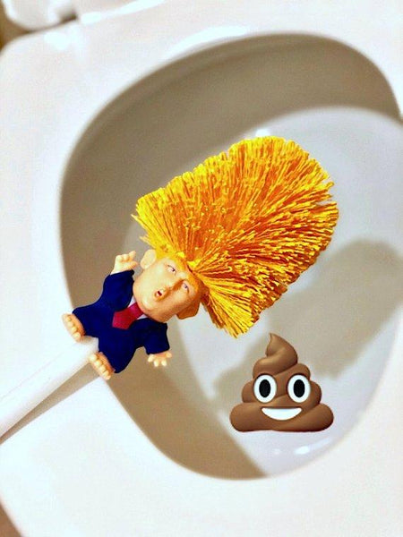 Donald Dump® Toilet Brush