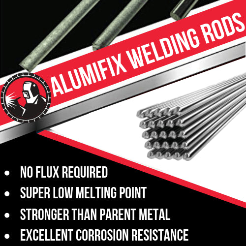 Alumifix Flux-Cored Rods (2pack)