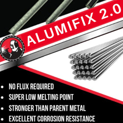 BLACK FRIDAY SALE! Alumifix 2.0 Flux-Cored Rods