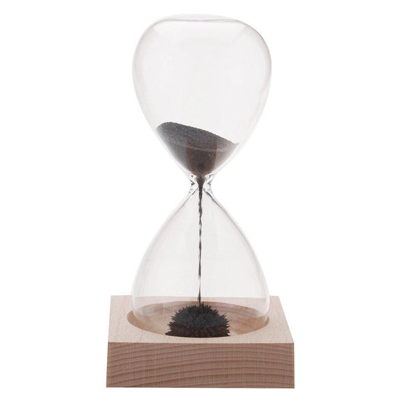 LIMTED QUANTITY; Hand-blown Magnetic Hourglass - Mega Elephant