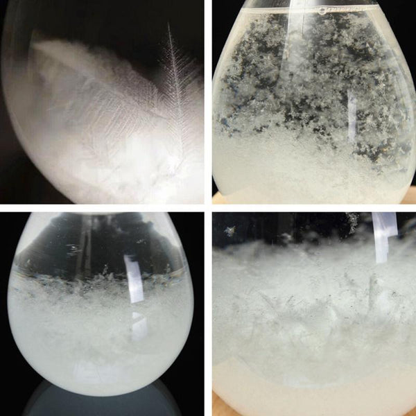 Weather Storm Glass Predictor Crystal - Mega Elephant