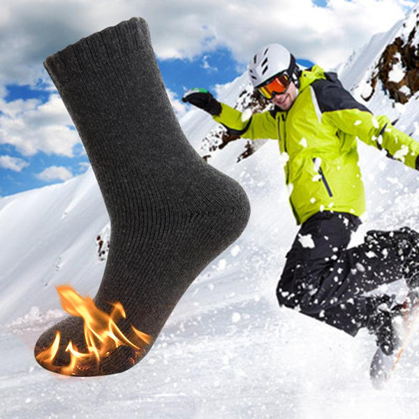 Thermal Self-Heating Socks