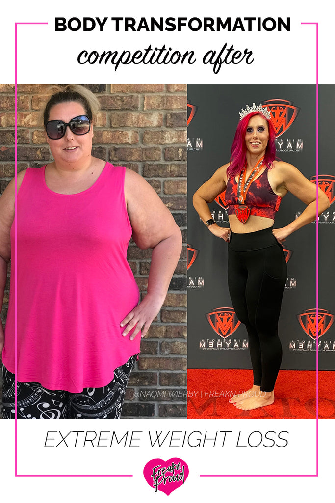 My Experience entering a Body Transformation competition after extreme weight loss