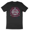 Badass Mother Punker | Vintage Black Pink & White | Crew Neck