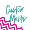 Custom Face Covering | Funny Masks in your own words | Naomi Wierby Fashion Freak LLC | Minnesota Face Mask Woman Owned Business Maker