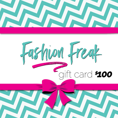 $100 Freakn Gift Card for the person in your life that gives Zero Fucks and wants to let the world Know it!
