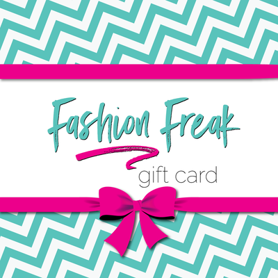 Gift Cards are the perfect gift for the hard to please mommy. Get her a Fashion Freak Gift Card and let her pick out her own damn freakn tee or smartassery