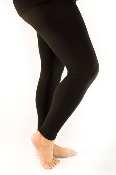 Fashion Freak Exclusive Leggings | Black | Yoga Waistbands for ultimate comfort!