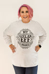 My Give An Eff Broke | Heather Grey Long Sleeve