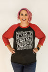 I am NOT an Object | Vintage Black with Red Sleeves | The Future Is Female