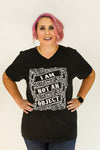 I am NOT an Object | Vintage Black | V Neck | The Future Is Female
