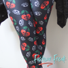 Skull Cherries & Brass Knuckles says it all! | Fashion Freak LLC | Yoga Waistband Leggings