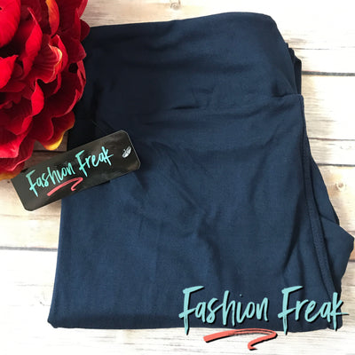Fashion Freak Exclusive Leggings | Navy | Yoga Waistbands for ultimate comfort!