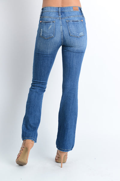 Curvy Boot Cut Medium Wash Denim Jeans | Rosemount, MN | Fashion Freak LLC