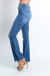 Curvy Boot Cut Medium Wash Denim Jeans | Apple Valley, MN | Fashion Freak LLC