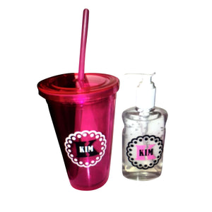 Tumbler and Handsanitizer set