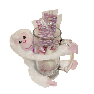 Valentine Beer Mug and Monkey