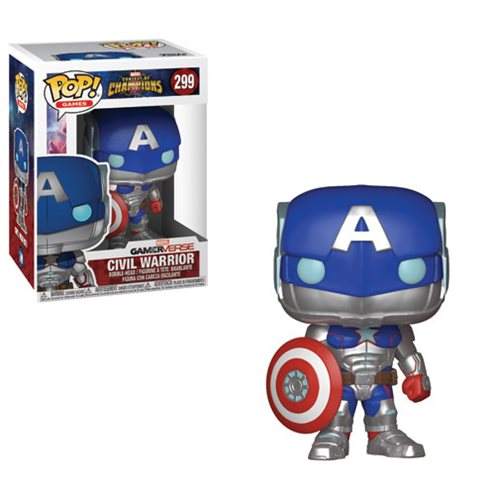Marvel: Contest of Champions Civil Warrior Pop! Vinyl Figure- IN STOCK